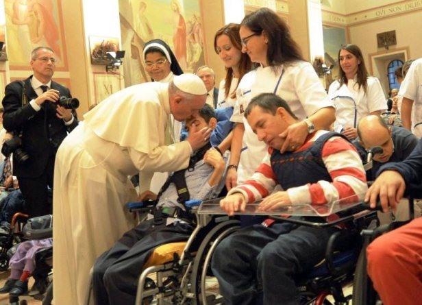 ITALY POPE FRANCIS ASSISI